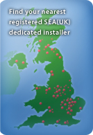 Find your nearest SEA(UK) dedicated installer